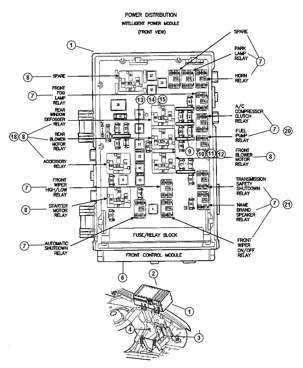 Jeep Thermostat Location