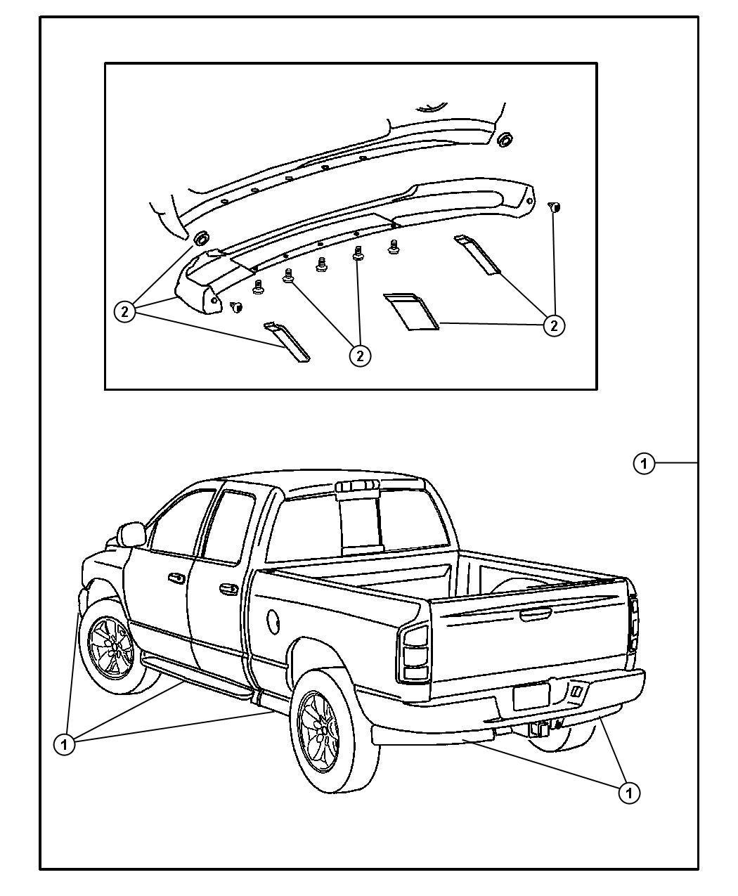 Dodge Ram Accent Kit Running Board