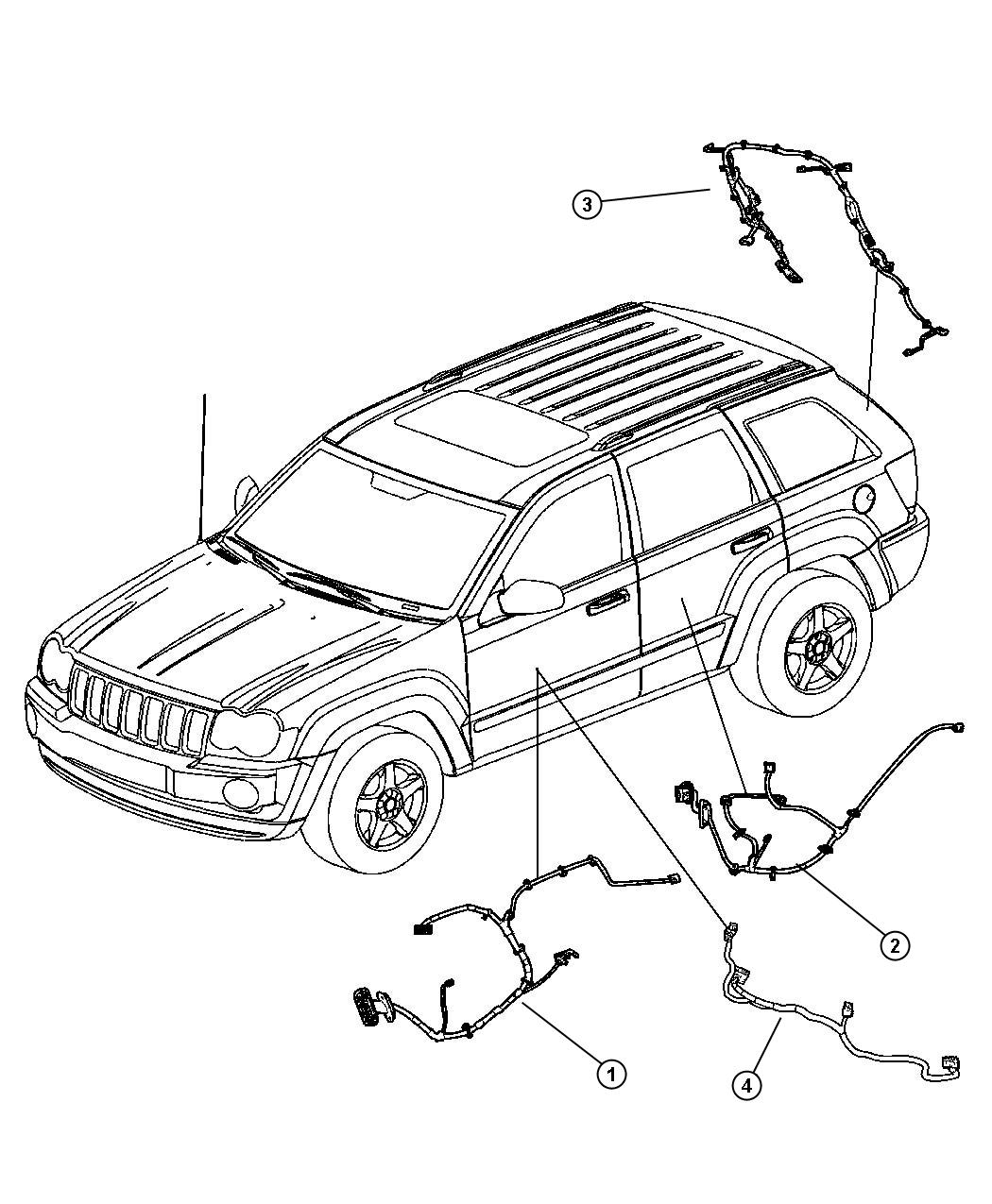 Jeep Grand Cherokee Wiring Liftgate