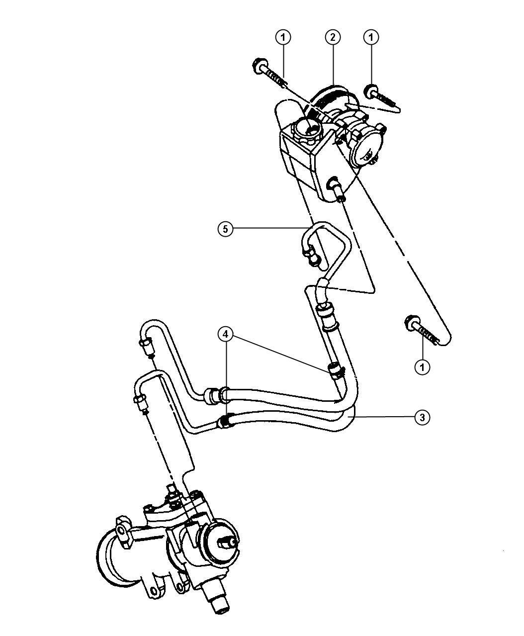 Jeep Wrangler Kit Reservior Resivoir
