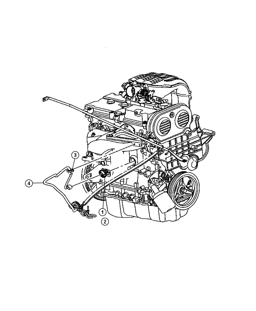 Jeep Wrangler Heater Engine Engine Block Cylinder Block