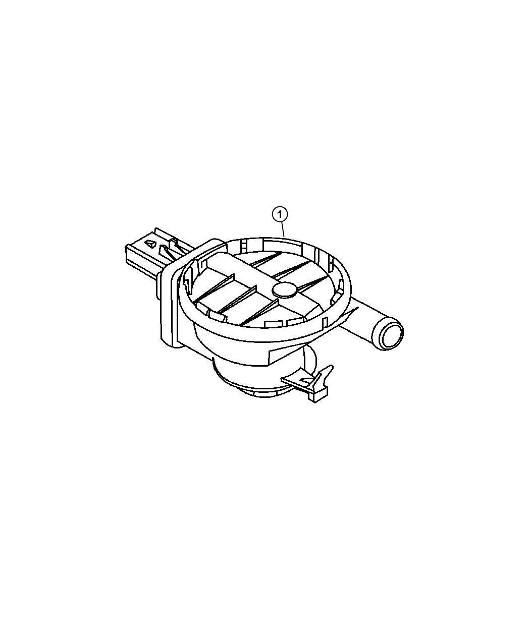 Jeep Commander Detector Natural Vacuum Leak Detection