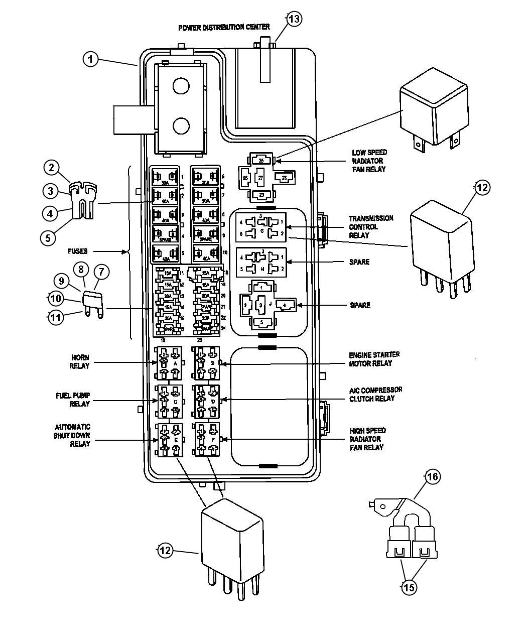 Sebring Wiring Diagram