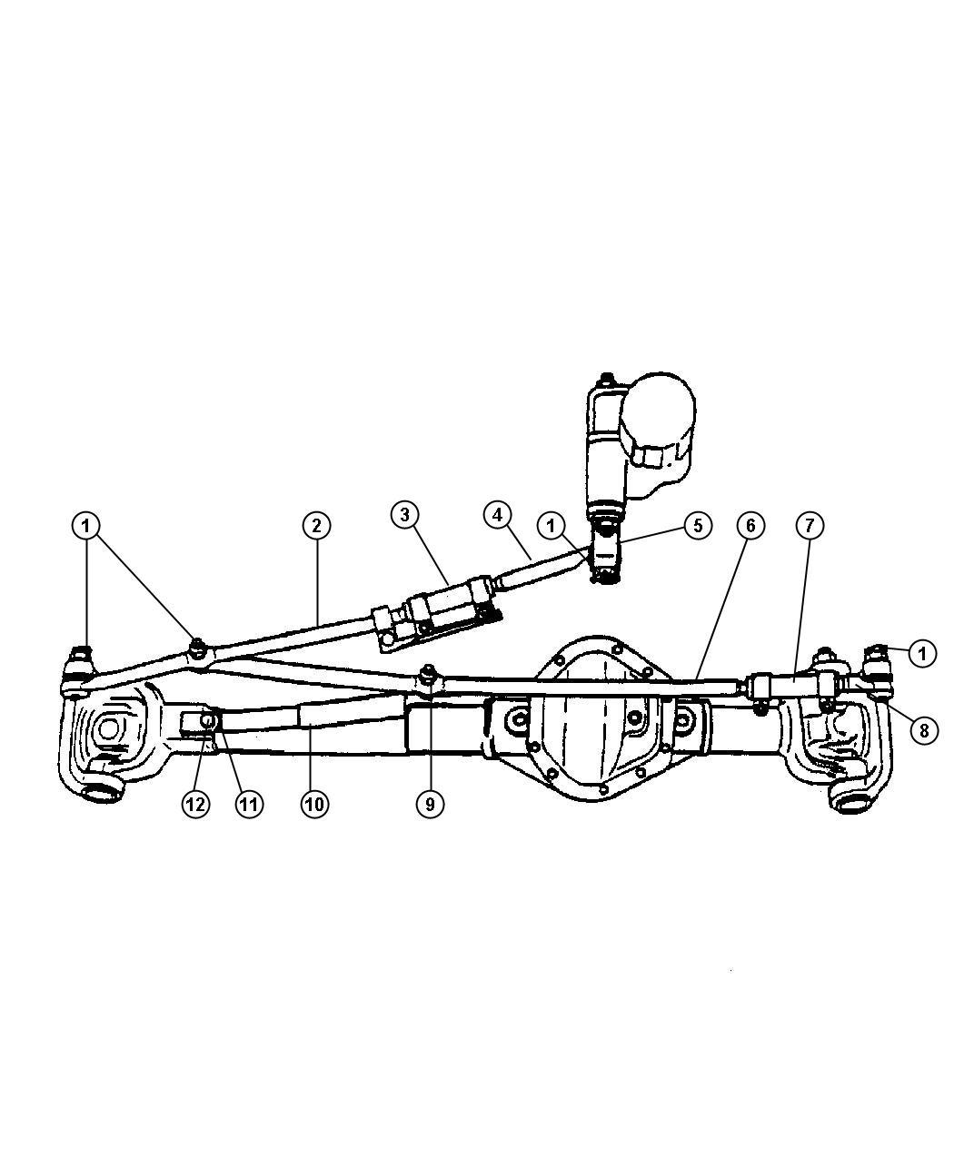 Dodge Ram Rod And Link Steering Linkagesteering