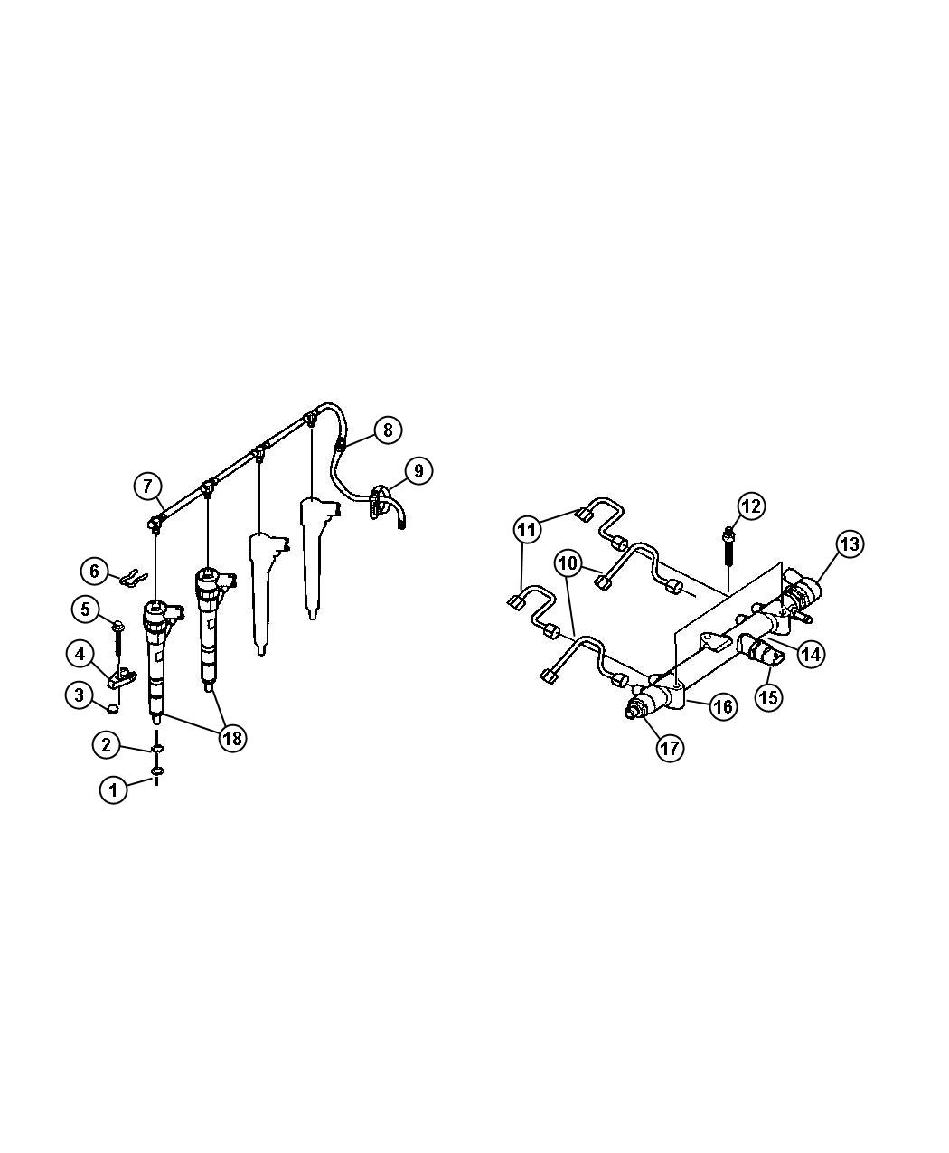 Jeep Liberty Sensor Solenoid Export Fuel Pressure