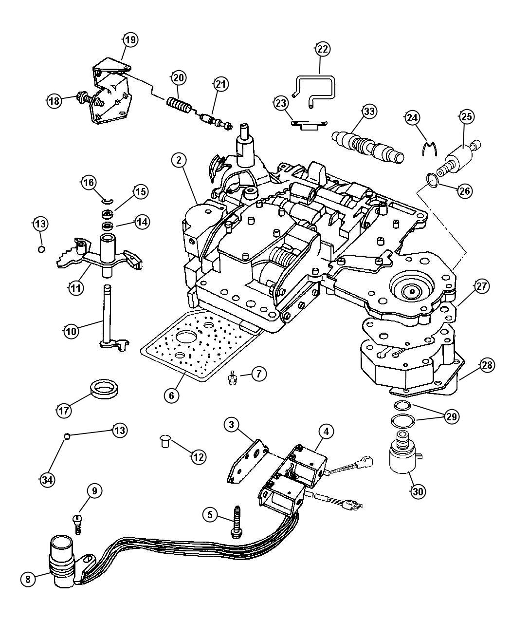 Dodge Ram Transmission Diagram
