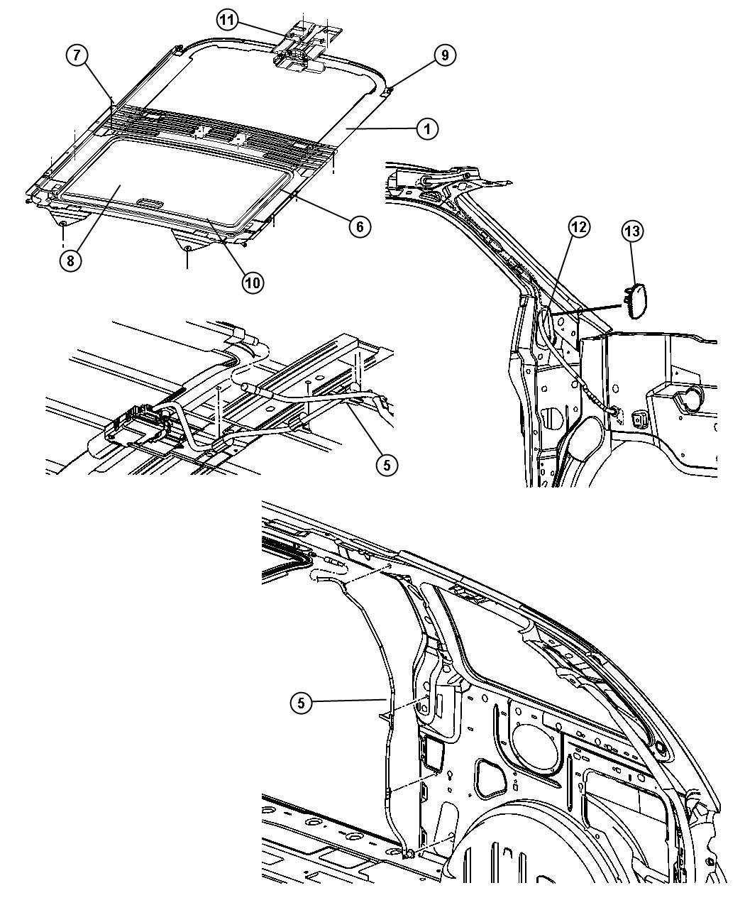 Dodge Grand Caravan Sunroof