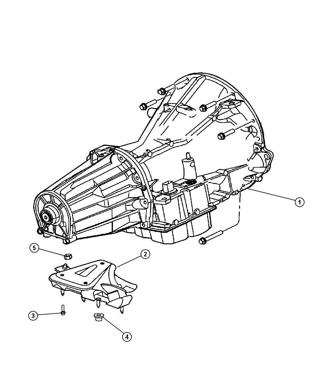 Dodge Ram Mount Transmission
