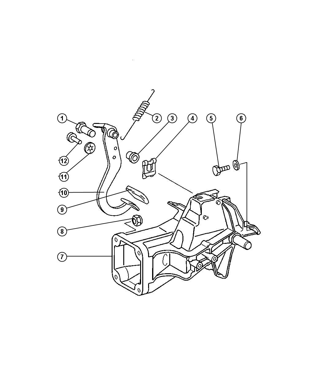 Dodge Sprinter Pedal Brake