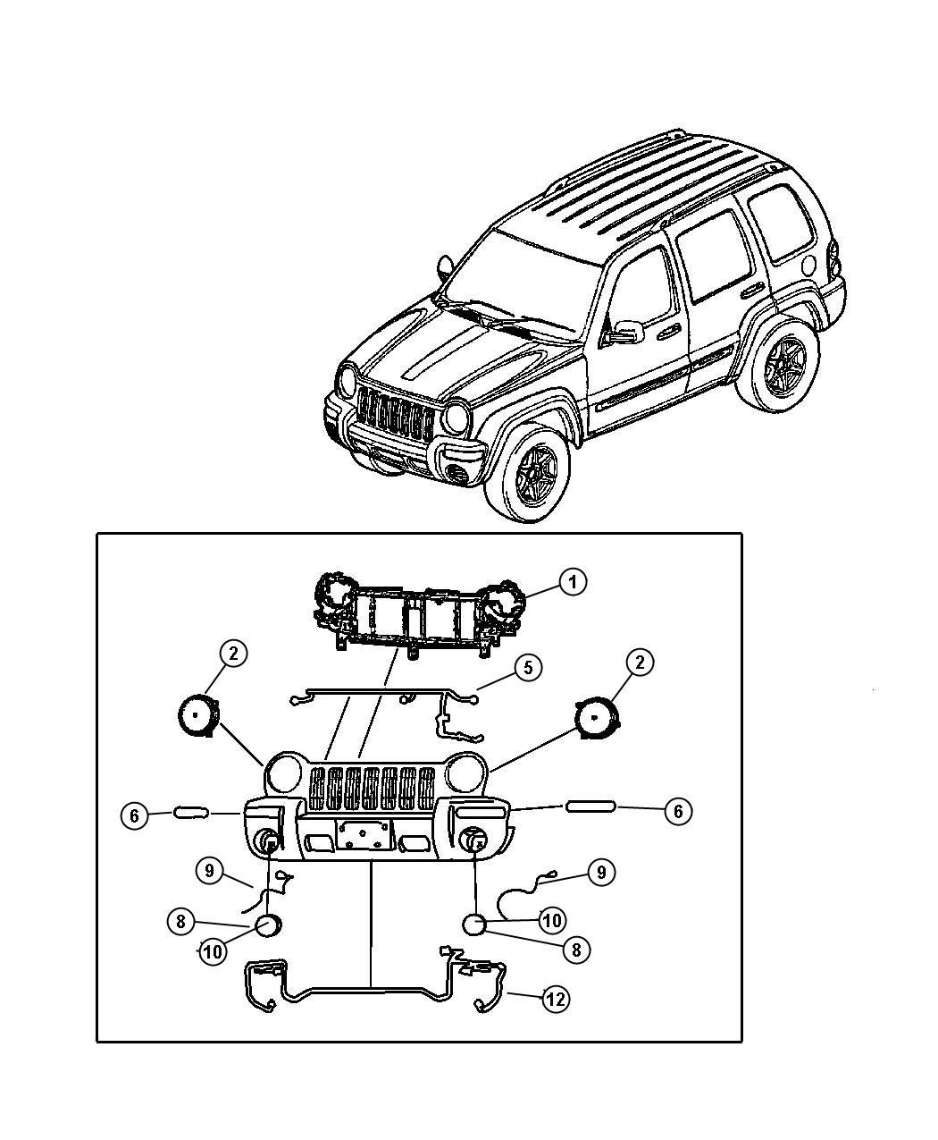 Jeep Wrangler Wiring Fog Lamp
