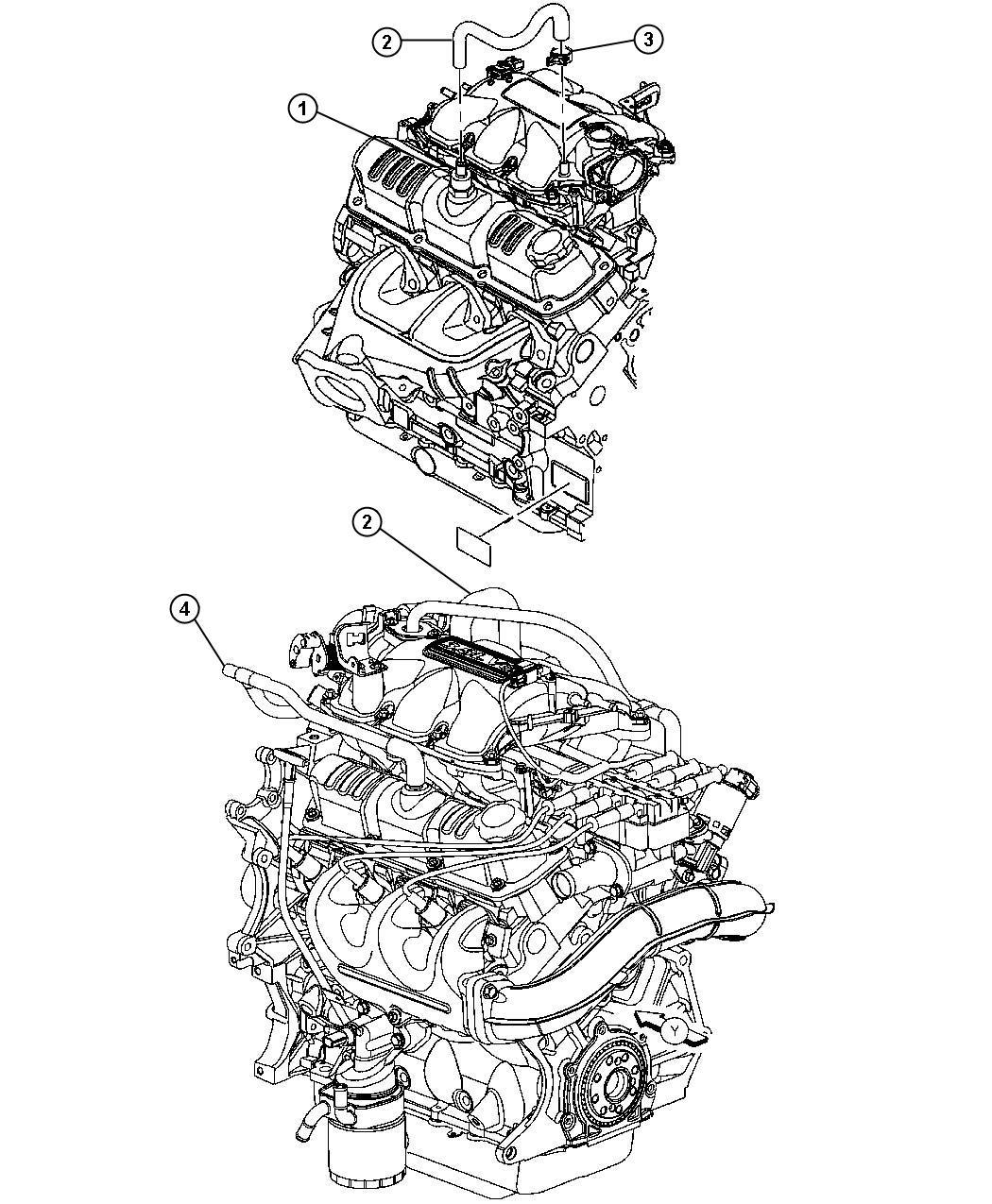 Chrysler Pacifica Crankcase Ventilation 3 8l 3 8l V6