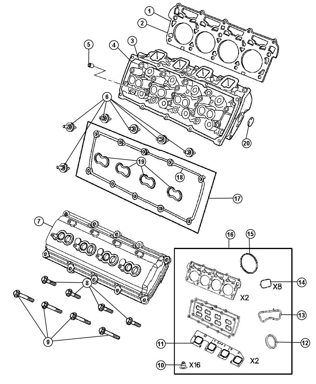 V8 Cylinder