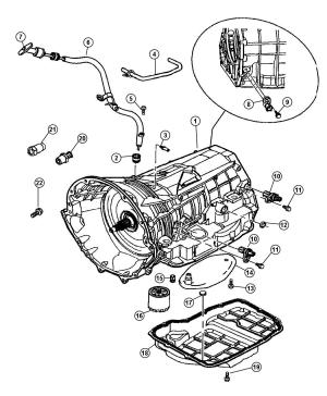 FILTERTRANSMISSION FILTERGENUINE MOPAR 5013470AC