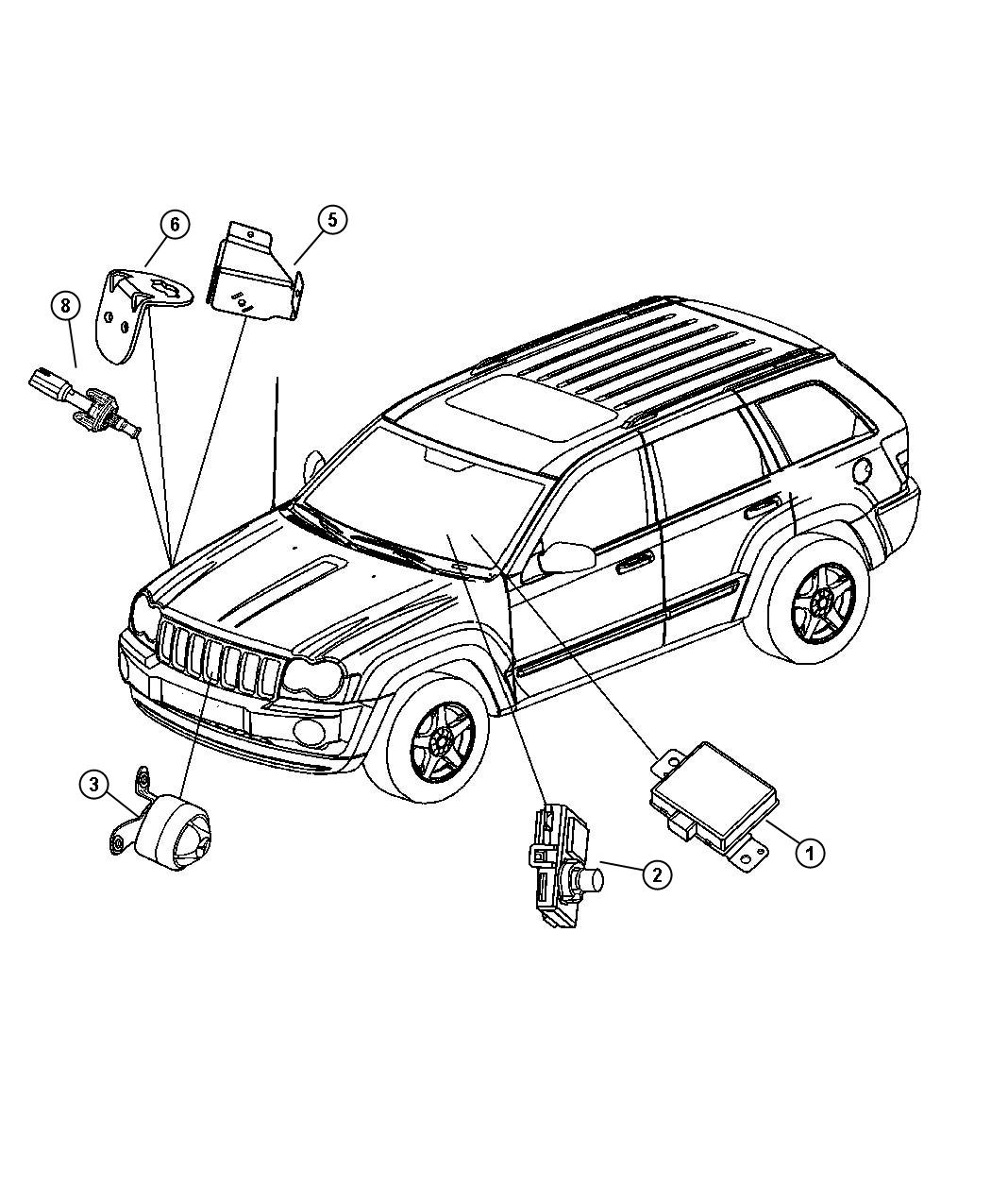 Dodge Grand Caravan Se 3 6l V6 Transmitter Anti