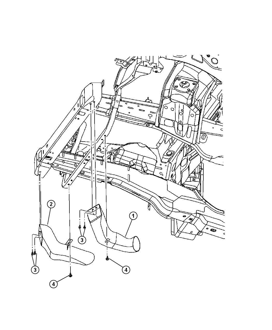 Jeep Renegade Pin Push Pin M11 4 M8x21 Mounting Heat