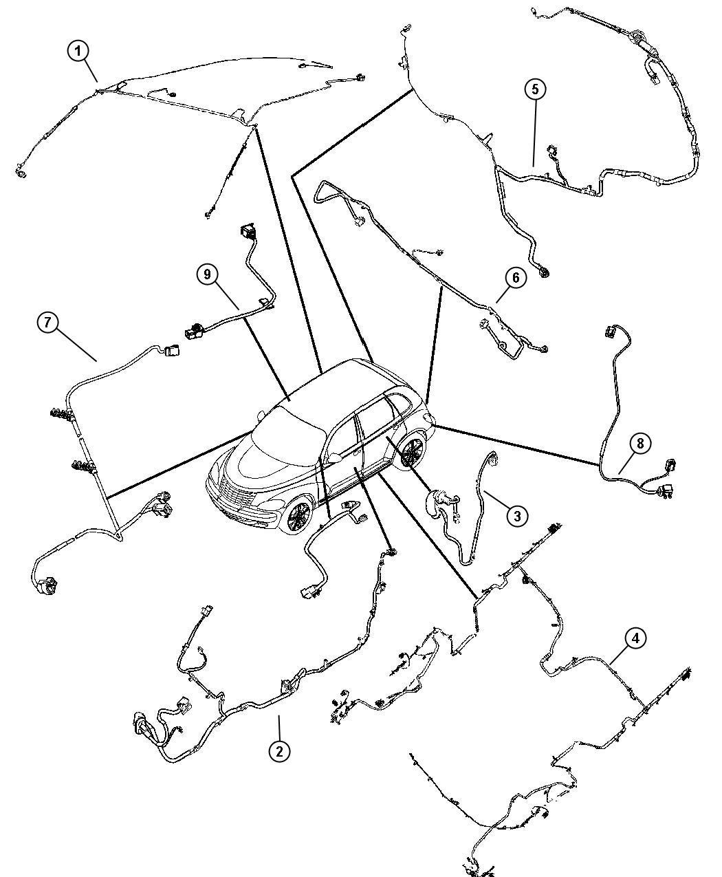 Chrysler Pt Cruiser Wiring Unified Body