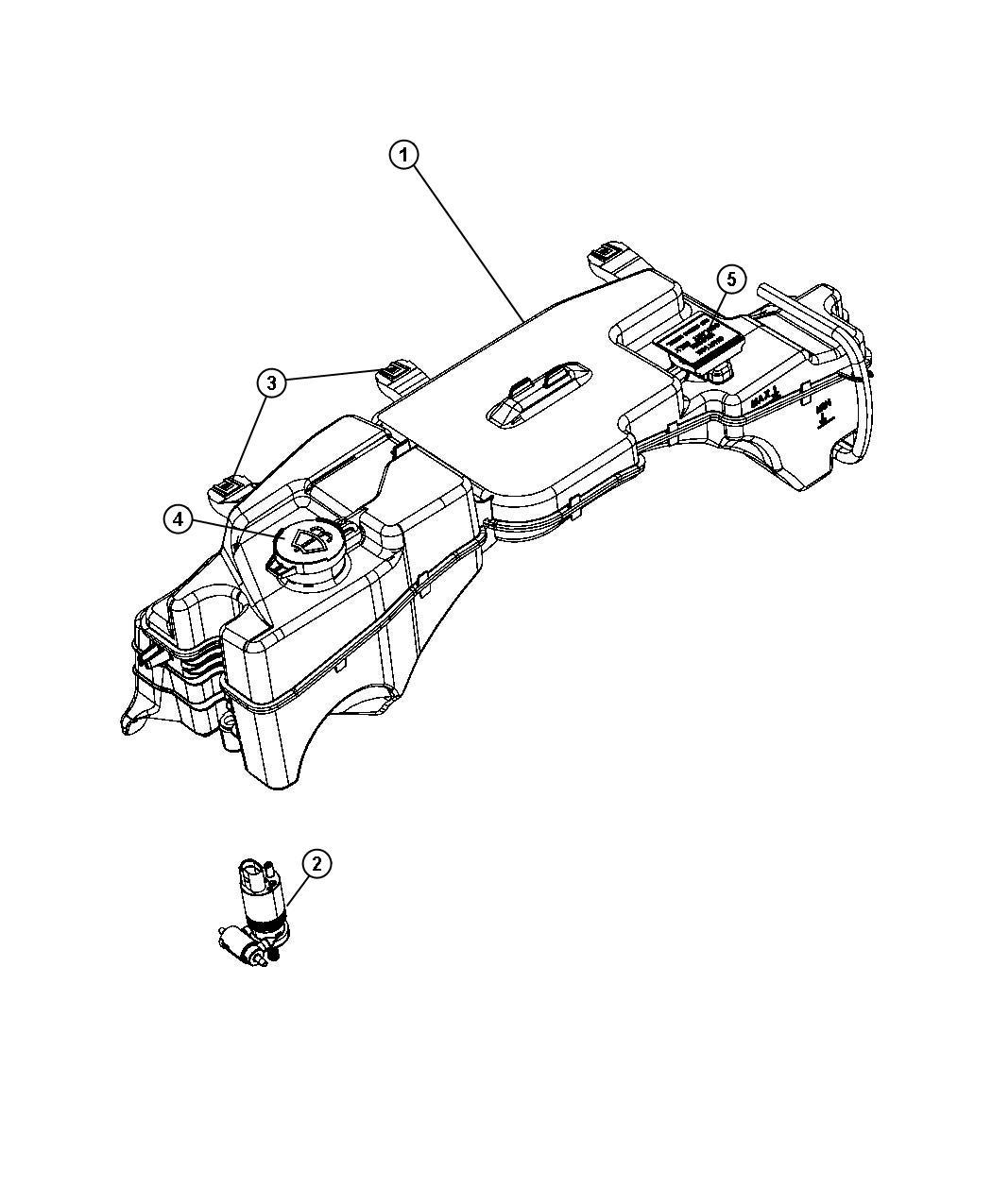 Dodge Grand Caravan Se 3 3l V6 Pump Pump Package