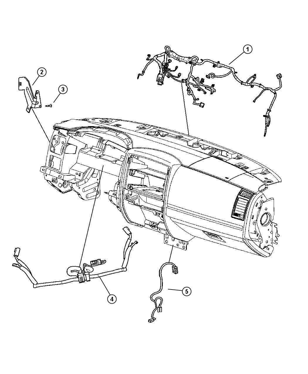 Dodge Dakota Slt Quad Cab 4 7l V8 A T 4x2 Wiring