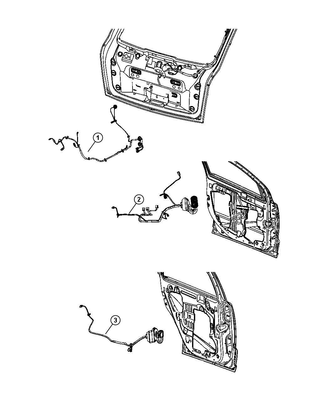 Dodge Caliber Wiring Liftgate