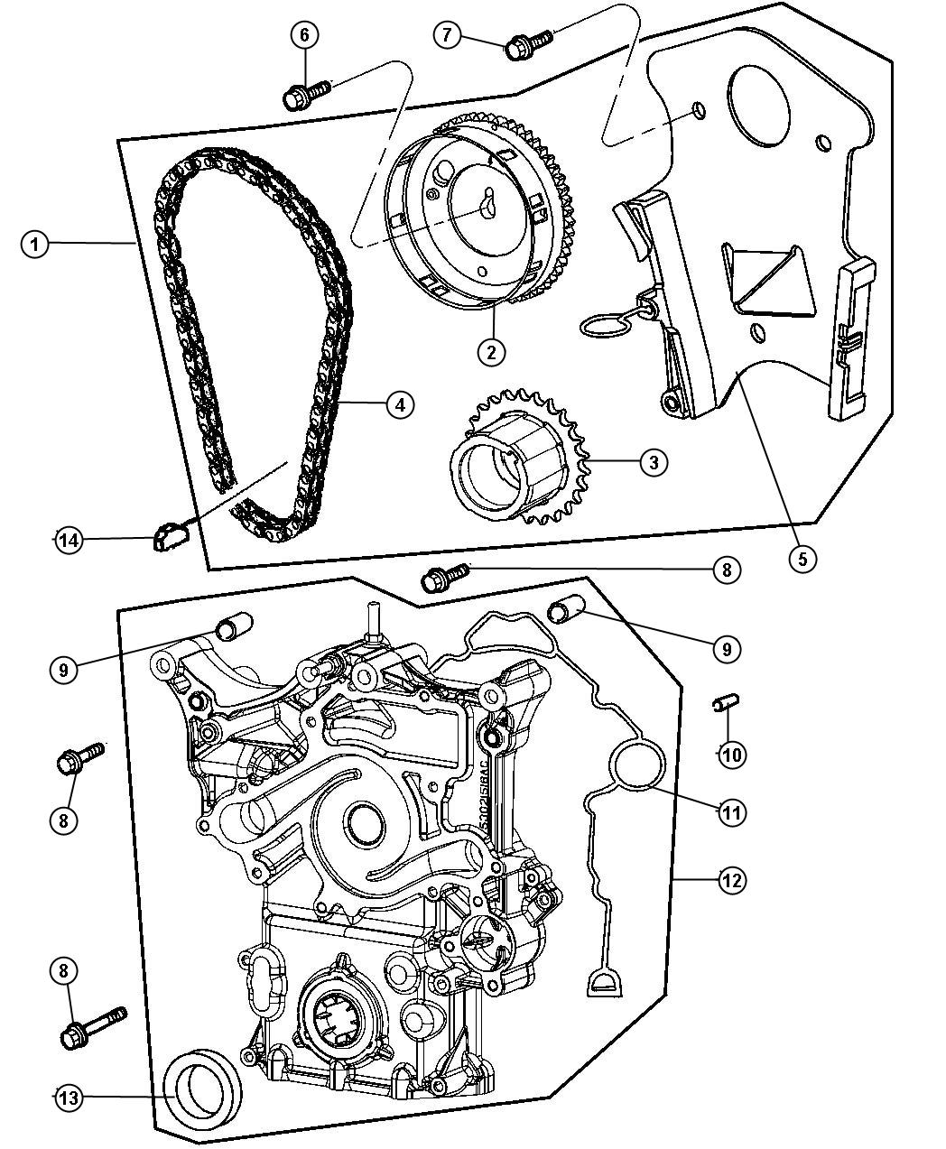 Dodge Ram Timing Drive Kit Engine Mega Cab Quad