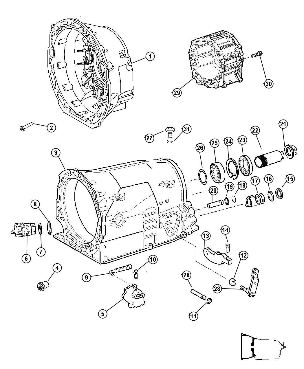Dodge Magnum R T 5 7l Hemi V8 O Ring Plug Adapter