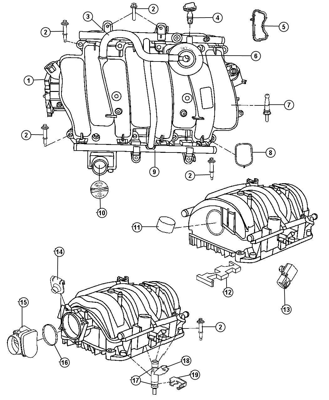 Dodge Challenger Throttle Body