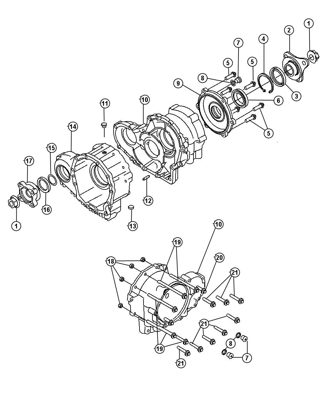 Diagram 7 Way Trailer Plug With Round Connectors Mopar
