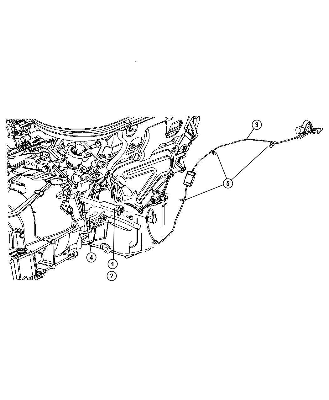 Dodge Grand Caravan Cord Engine Block Heater After 07 09