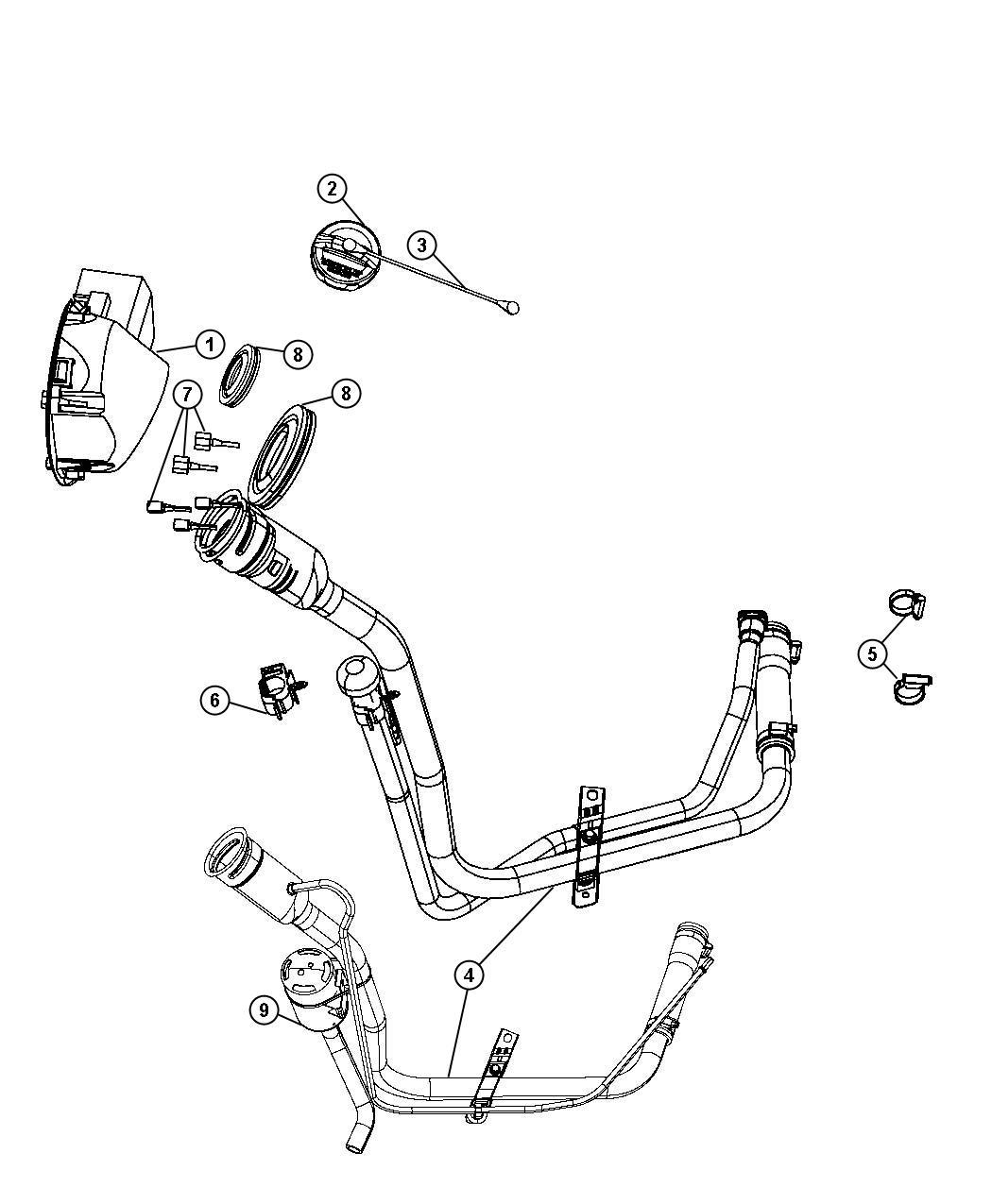 Dodge Nitro Filter Leak Detection Pump Leak Detection