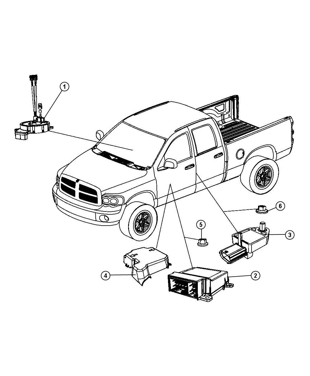Jeep Grand Cherokee Clockspring Steering Column Control