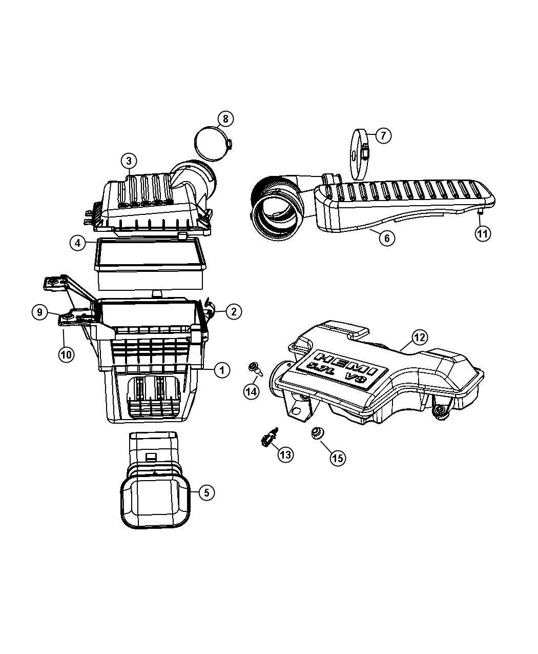 Dodge Avenger Sensor Air Temperature Ezo