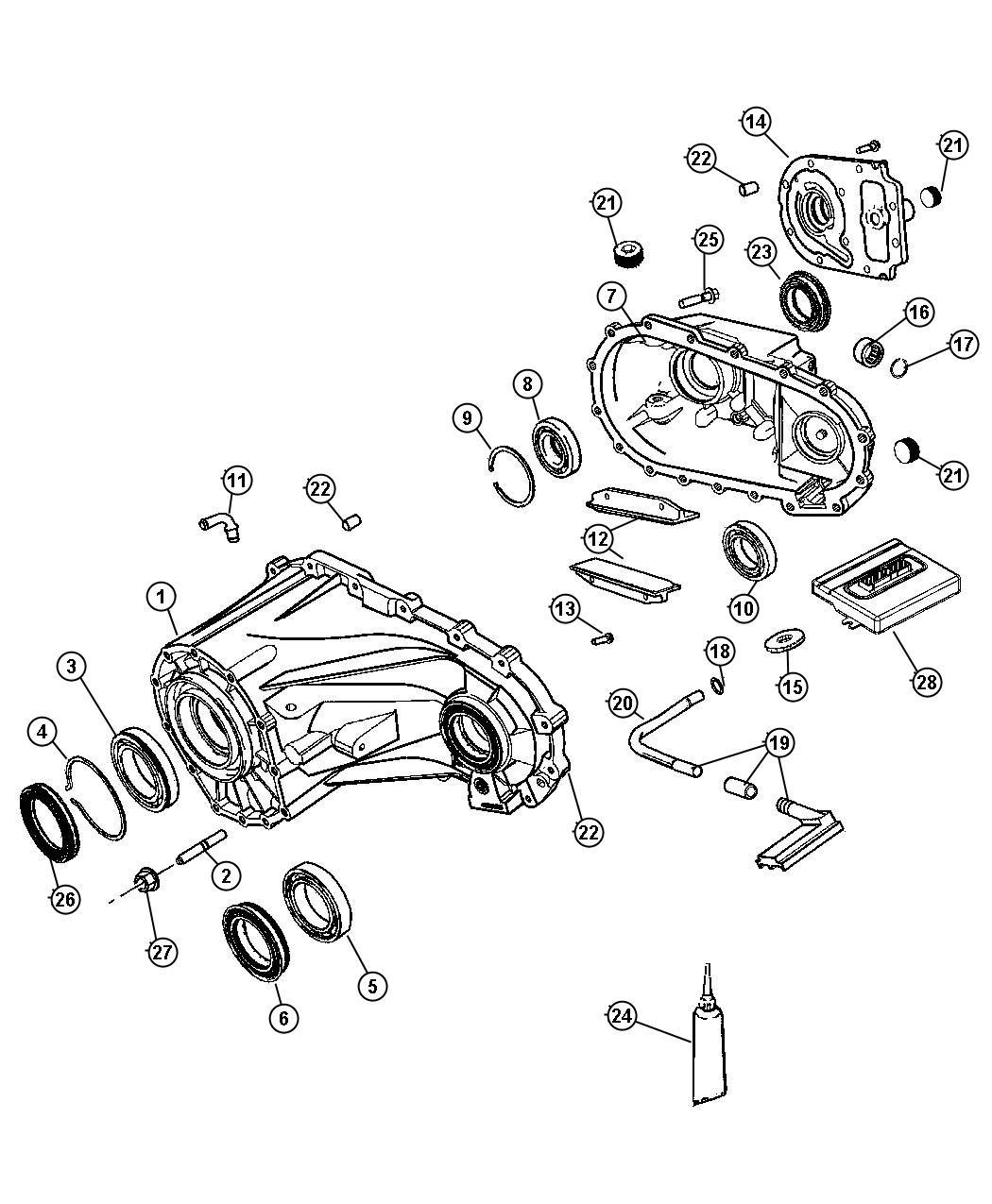 Jeep Wrangler Snap Ring