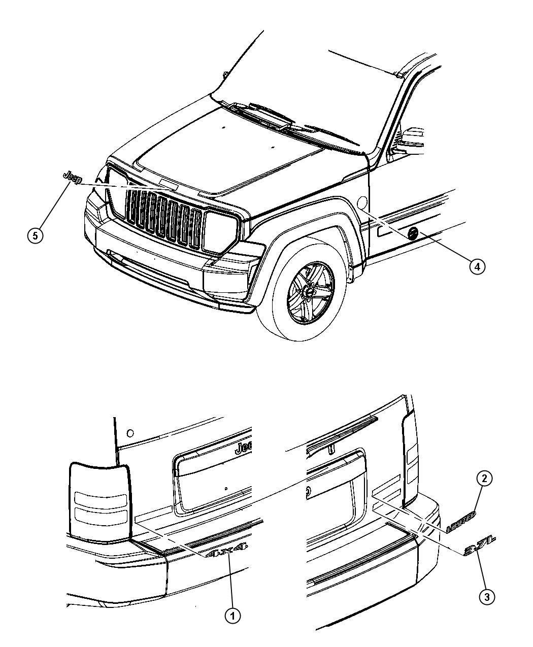 Jeep Liberty Sport 3 7l V6 A T 4x4 Medallion Trail