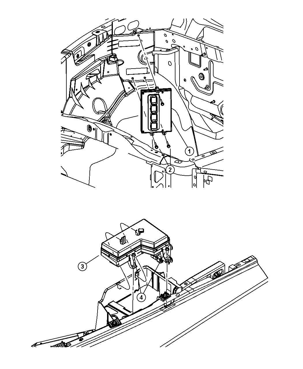 Dodge Dakota Module Front Control