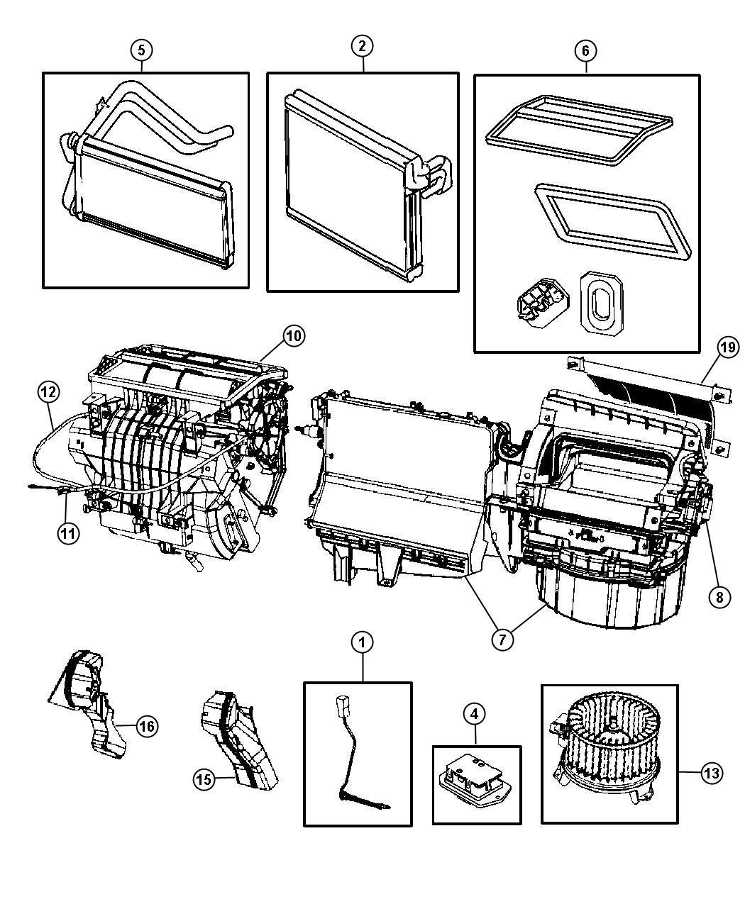 Dodge Caliber Cable Mode Temperature Control