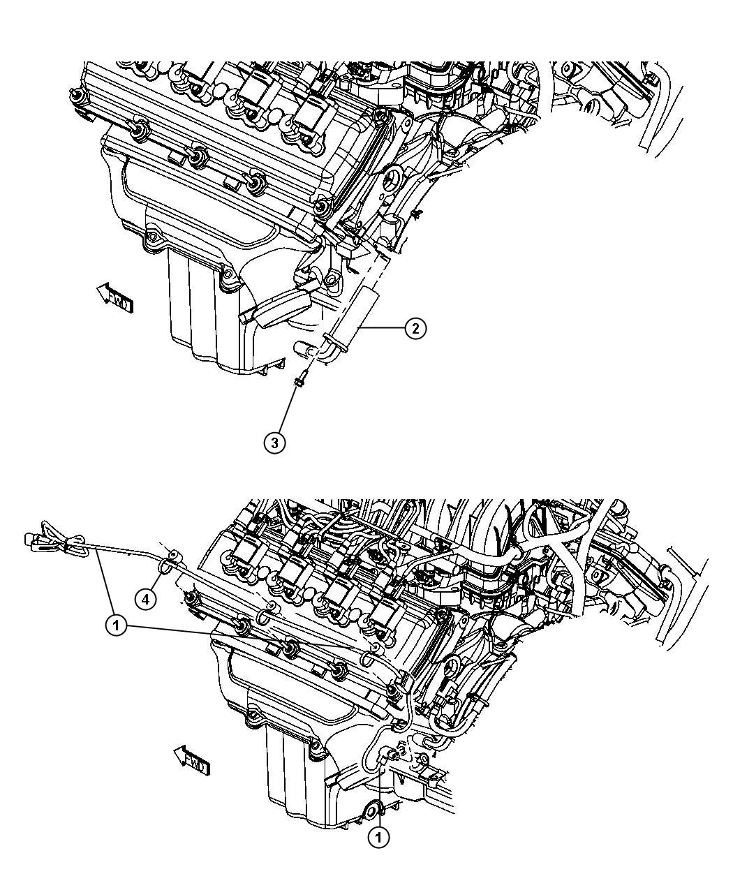 Dodge Magnum Engine Cylinder Block Heater 5 7l 5 7l Hemi Multi Displacement Engine