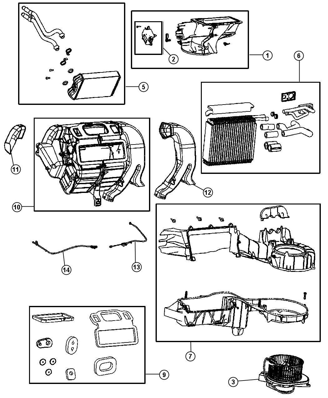 Chrysler Pt Cruiser Resistor Blower Motor Winstires