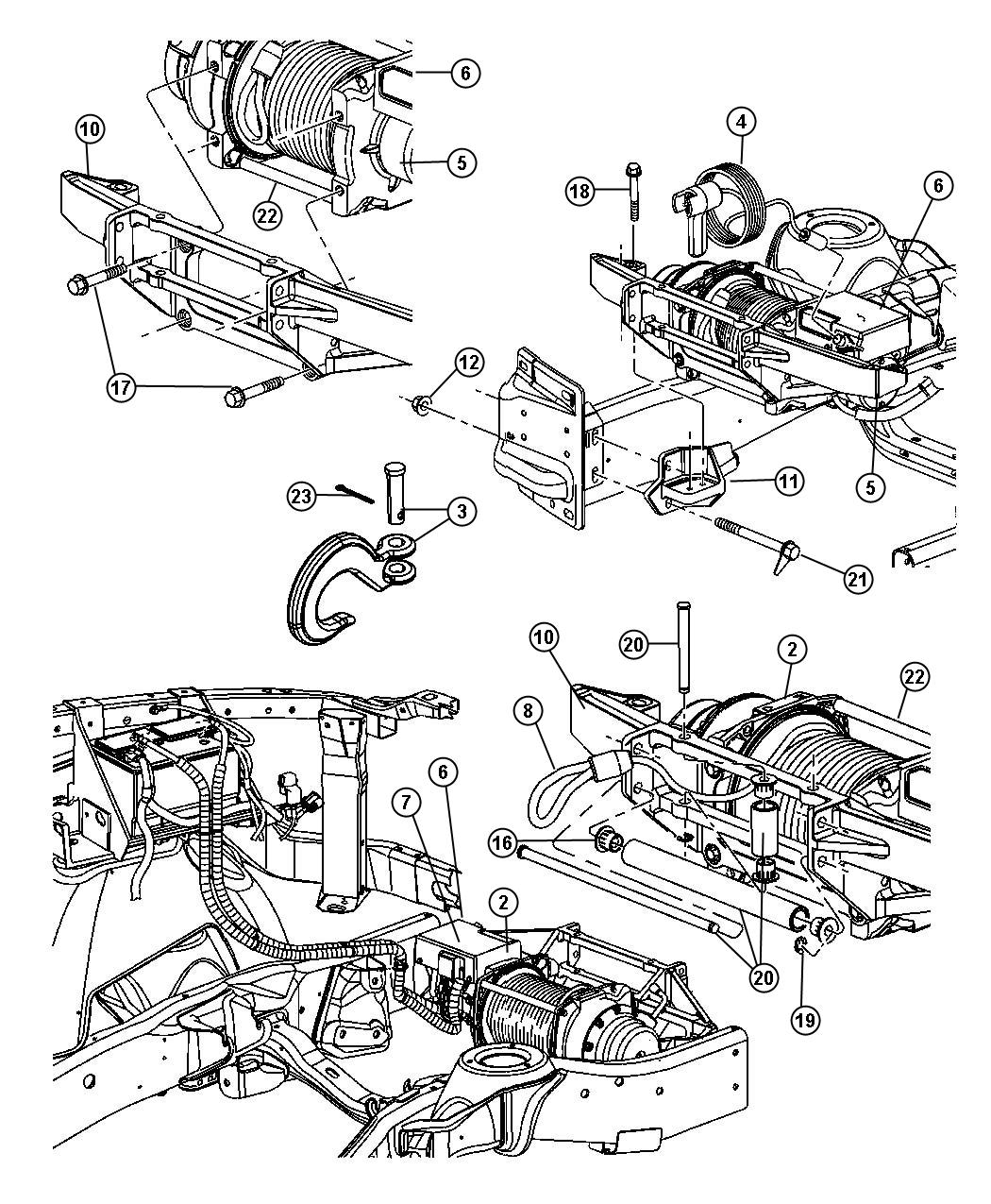 Warn 12k Winch Wiring Diagram