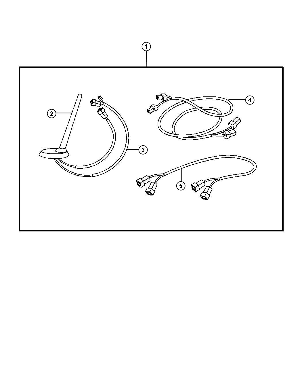 Dodge Nitro Antenna Base Used For Base Cable And