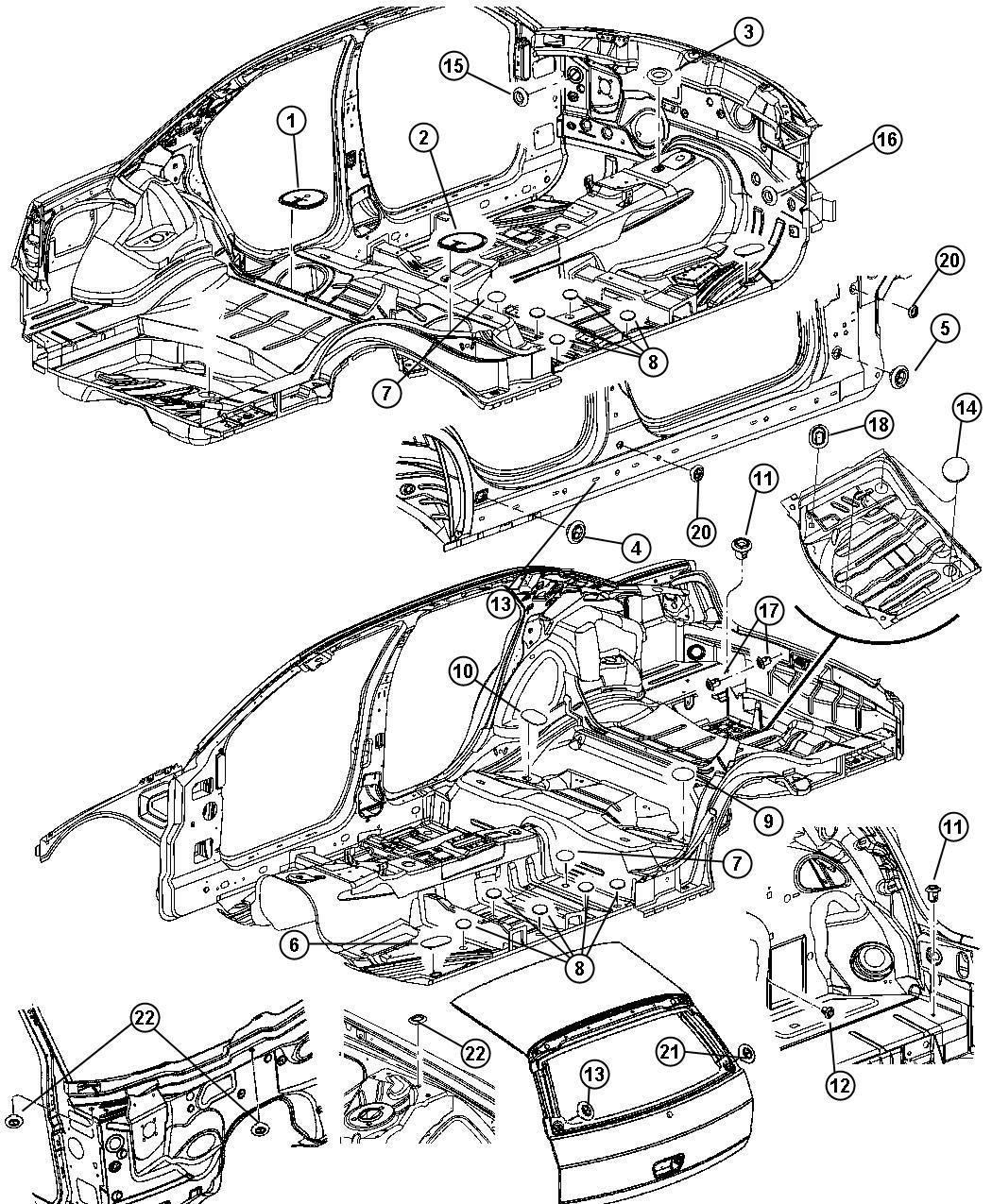 Dodge Magnum Plug Dash Panel