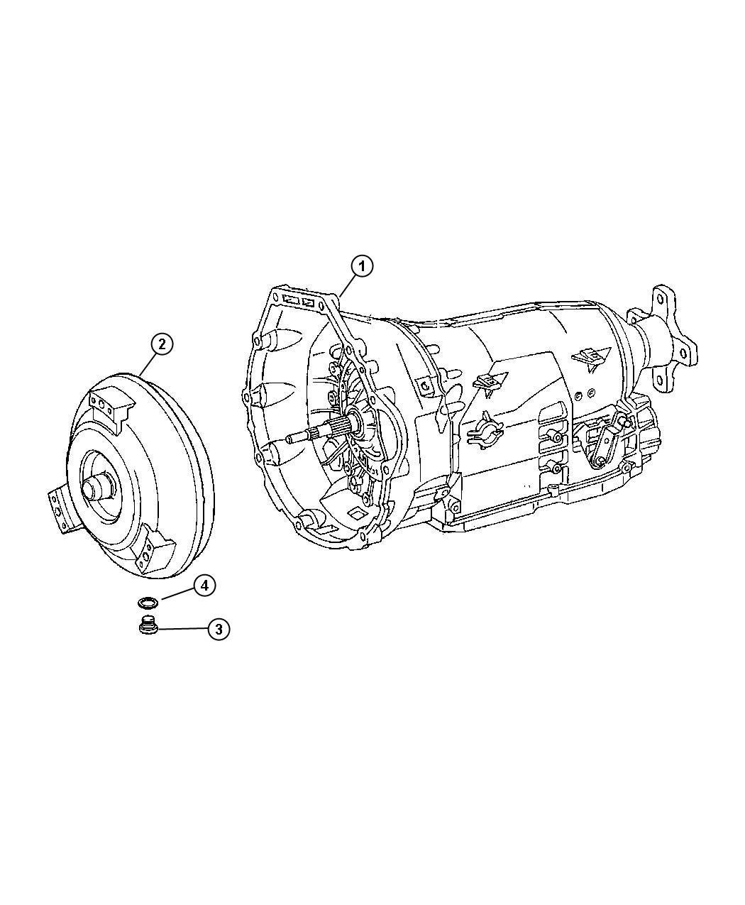Dodge Converter Remanufactured Torque Dgz