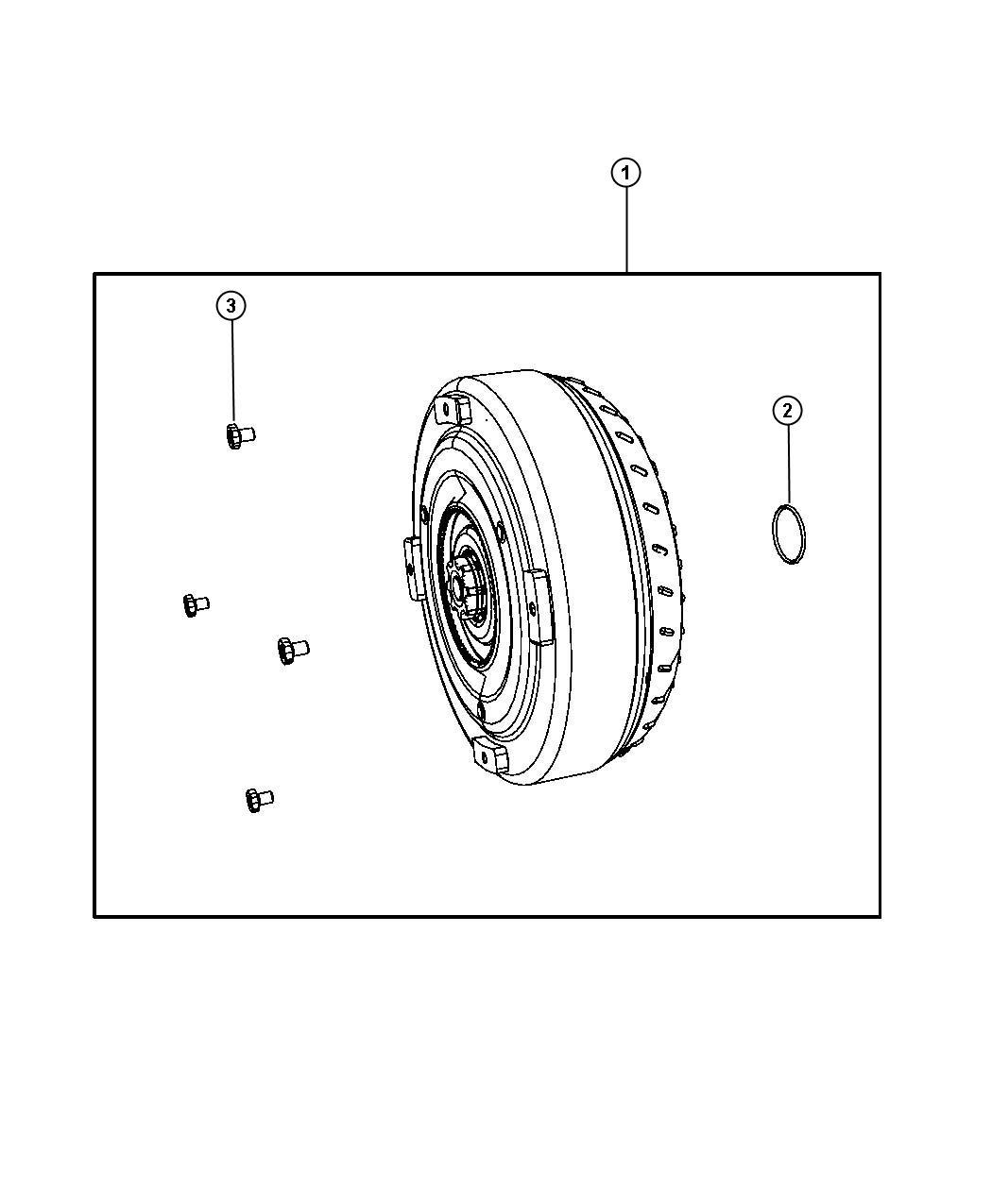 Dodge O Ring Seal Torque Converter Hub Conterter