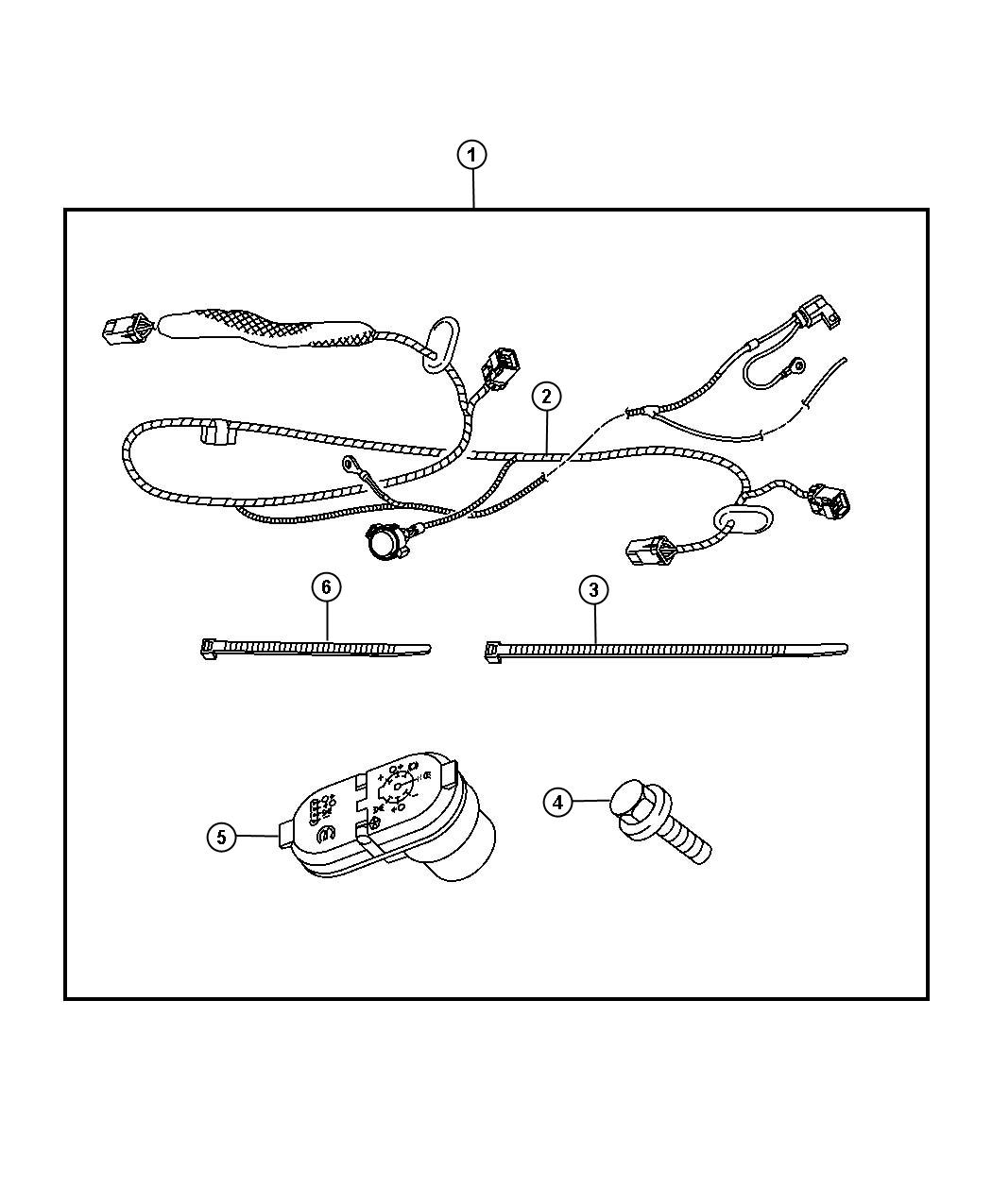 Dodge Ram Wiring Connector