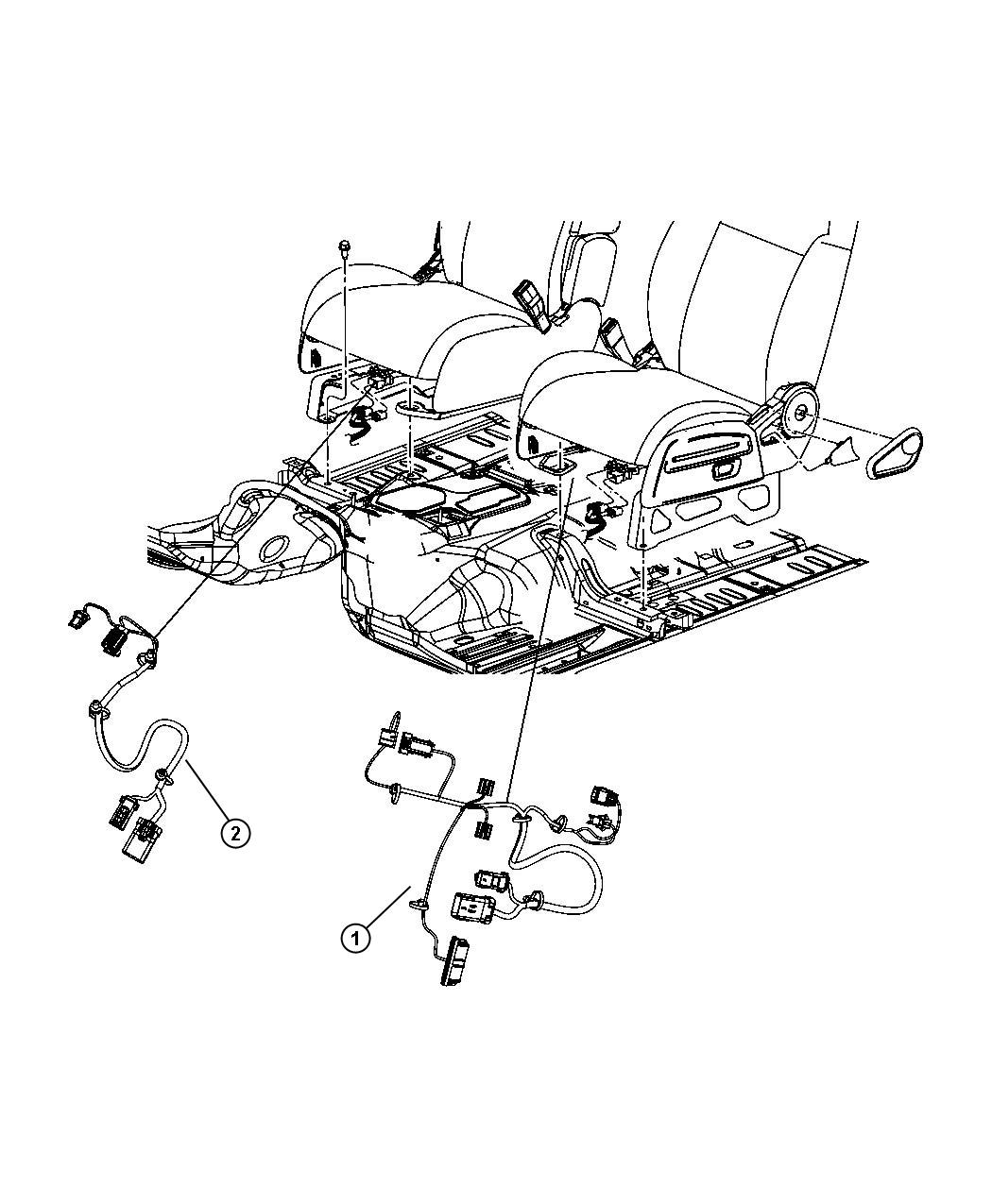 Jeep Compass Wiring Seat Heated Seat Track Position