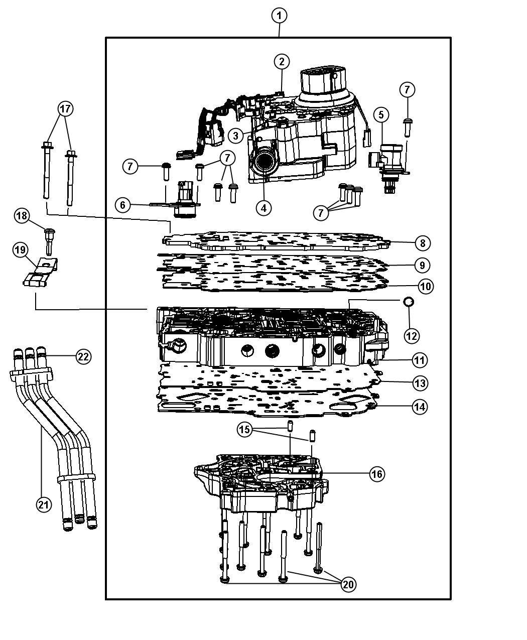 Chrysler Town Amp Country Touring 3 8l V6 Sensor Trans