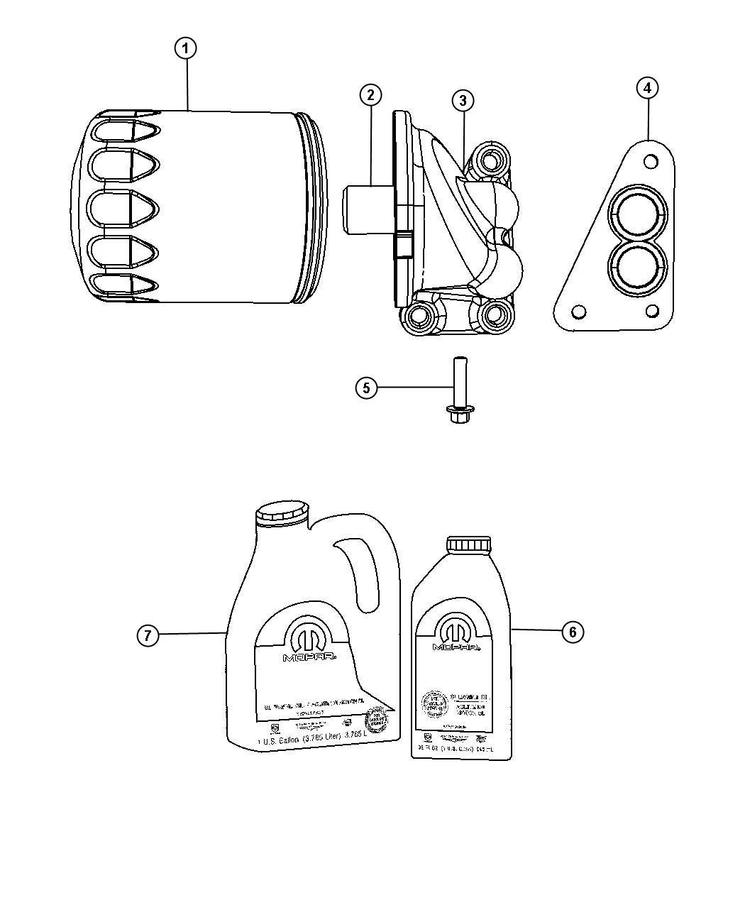 Chrysler Pt Cruiser Engine Oil 5w30 Gallon 128 Fluid