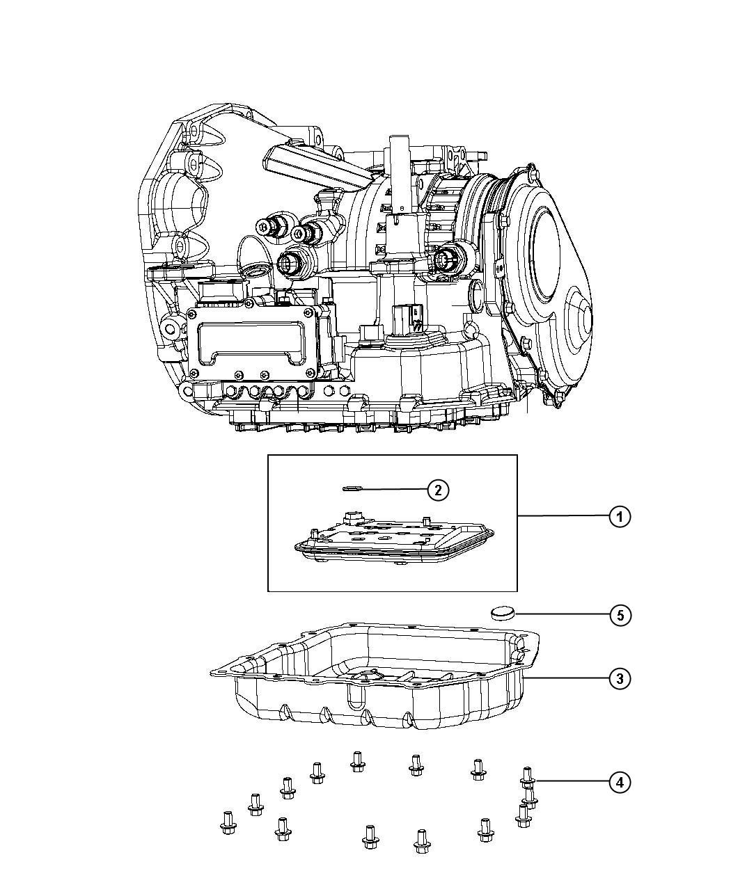 Dodge Avenger Sxt 2 4l 4 Cyl A T Filter Kit Filter
