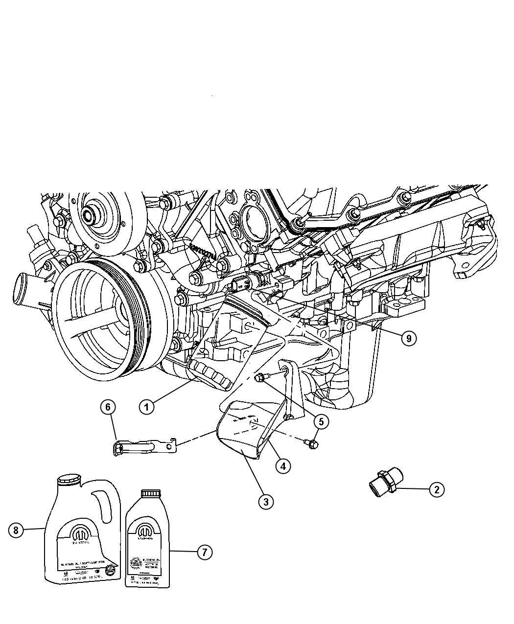 Dodge Ram Sending Unit Switch Oil Pressure