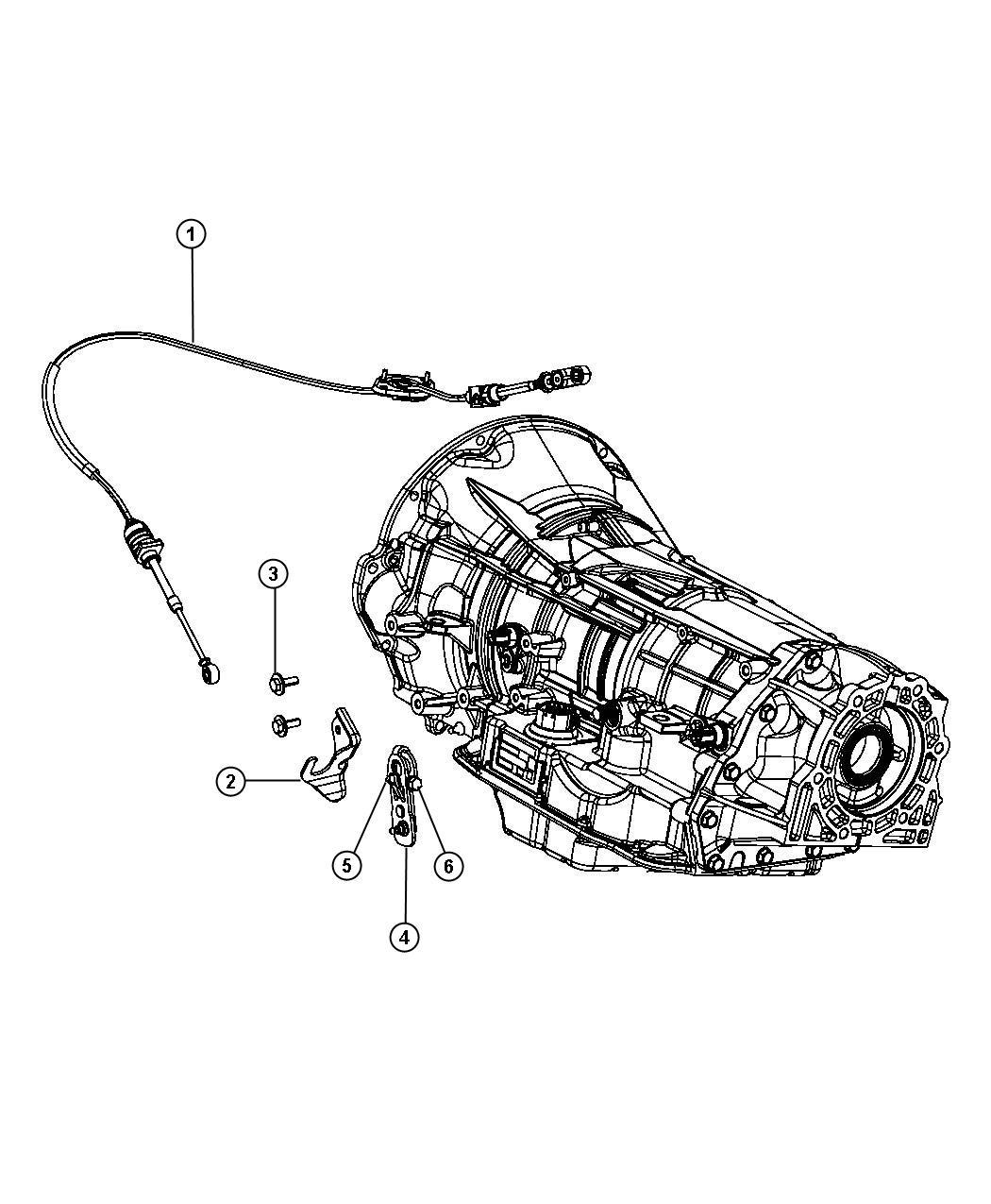 Jeep Wrangler Cable Shift Transmission Auto