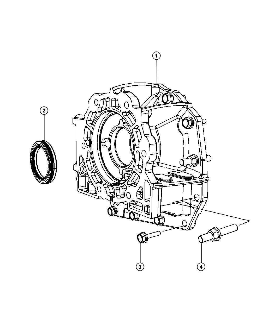 Dodge Adapter Transfer Case Transmissionmultispeed
